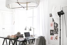 Working area / Work space... it's about comfy, style, ideas....
