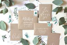w e d d i n g  i n v i t e s / a collection of swoon-worthy wedding invite images, ideas, + inspirations.