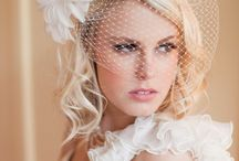 Wedding Hair & Bridal Hair Accessories / Wedding Hair & Bridal Hair Accessories including barrettes, clips, headbands, jewelry, feathers, bird cage veils and more!