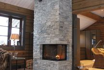 Fireplace Cabin