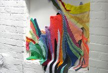Strikking som kunst/ knitting art