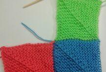 mitred knitting