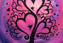 Acrylic Paintings Valentines Day/Couples