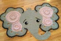 szydełkowe dywany