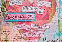 Art for my Studio Space / by Betsi Goutal - eccentric spirit