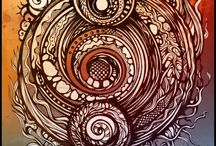 Zentangles / Get lost in the tangles