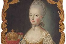 Marie Antoinette / collect Marie Antoinettes portreits.