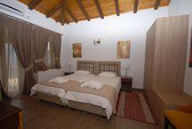 ΔΙΑΜΕΡΙΣΜΑ ΤΥΠΟΥ Α / Τα διαμερίσματα τύπου Α αποτελούνται από ένα ευρύχωρο υπνοδωμάτιο με ένα διπλό κρεβάτι*, πλήρως εξοπλισμένη κουζίνα, λουτρό, άνετο καθιστικό με τζάκι, TV και καναπές κρεβάτι**.  Στο εσωτερικό του διαμερίσματος θα βρείτε όλες τις παροχές που θα σας εξασφαλίσουν μια άνετη και ευχάριστη διαμονή, ενώ οι γήινες αποχρώσεις στα υφάσματα που δένουν αρμονικά με την πέτρα και το ξύλο θα σας κάνουν να αισθανθείτε οικειότητα και ζεστασιά. Όλα τα διαμερίσματα έχουν φυσικό φωτισμό και αερισμό.