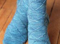 Kötés zokni