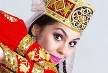 Üzbég divat