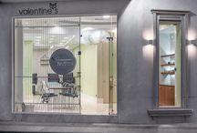NAIL SPA Valentina by Manousos Leontarakis / Nail spa in the center of Heraklion Crete designed by Manousos Leontarakis & associates  www.manousosleontarakis.gr