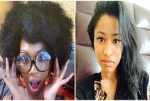 Nicki Minaj Natural Hair / Nicki Minaj Natural Hair