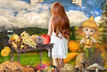 Thanksgiving by PerlineDesign / The wonderful work of my Creative Team, to inspire you !
