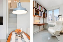Lofty ideas / Lofts, alcoves and little nooks. Utilizing the space to the max!