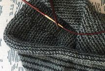 Taylor Ceramics Instagram The newsprint cowl from @purlsoho was the perfect project for some leftover alpaca I had sitting around.  #knittingseason #stripes