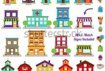 2D Buildings