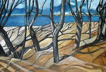 Morze Bałtyckie w malarstwie / Baltic Sea paintings / Interesting examples of Baltic Sea paintings