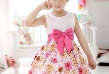 vestido de niñas