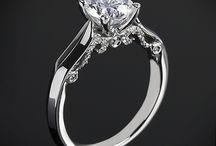 Jegygyűrű // Wedding ring / A nő a legszerencsésebb - lánykéréskor, eljegyzéskor és az esküvőn is csodálatos gyűrűvel lepi meg kedvese. Mi pedig megmutatunk néhány csodás darabot! // #woman #proposal #engagement #wedding #ring #love