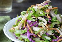 Salads I Crave / A collection of salad recipes from bloggers around the web.