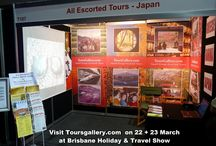 Travel Expo, Brisbane Holiday Show / At Travel Expo visit Toursgallery.com showstand.  Holiday & Travel Show, in Brisbane Convention Centre. Free Entry.
