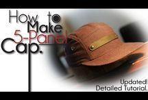 5 panel hats