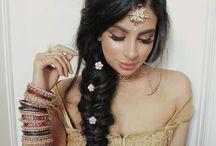 mehndi hairstyles