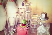drinks and glassware