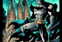 """Batman 75 aniversario / En 2014 se cumplen 75 años del nacimiento de Batman. Su primera aparición fue en  """"El caso del sindicato químico"""", de la revista Detective Comics n.º 27, publicada por la editorial National Publications en mayo de 1939. Aquí nuestro pequeño homenaje a este personaje fascinante."""