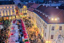 Dresden, Bratislava, and Vienna