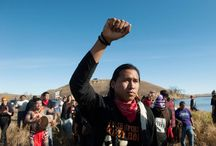 Tracking: Dakota Pipeline Protest / We've checked into the Standing Rock Reservation on Facebook,  now we'll watch how the protest develops. The Riveter keeping you updated on the nationwide protest against the construction of 1,200 miles of pipeline in North Dakota, which will destroy sacred land of Native American tribes.