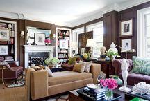 Dark living rooms