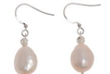 Pearl Earrings / by saint christine