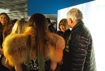 NYFW Fall 2012 / Our PR Sponsor, #KCYouThere, went behind the scenes at #NYFW / by Mercedes-Benz of Buffalo Fashion Week