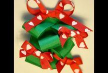 Bows and ribbons!  / by Meagan K