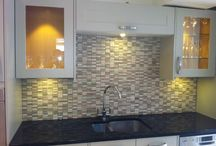Mosaic Mix / A selection of glass, stone and metal mosaic tiles.