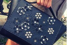 New Collection / Handmade leather accessories with Swarovski crystals.