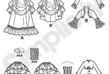 Steampunk & victorian Sewing Patterns / by ABQ Steampunk