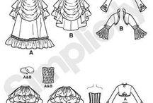 Steampunk & victorian Sewing Patterns