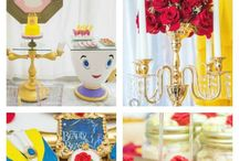 Beauty and the Beast / Take a look at these wonderful Beauty and the Beast party ideas  girl birthday parties including  cakes, cupcakes, party decorations, party favors, dessert tables, costumes. Fit for a princess!