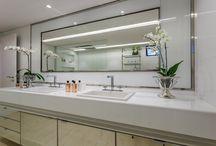 Suite e closed integrados com banheiro