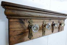 Glass door knob crafts
