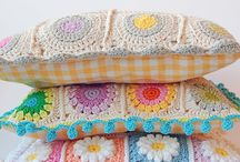 Crochet pillow. Horgolt parna