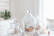 Tablescape | Christmas / Christmas table setting and decoration ideas
