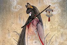 dieu, déesse japonaise manga