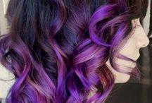 Cabelo colorido ❤️