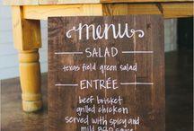 Wedding food ideas