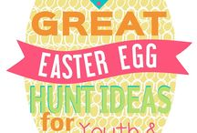 LDS Easter Egg Hunt Ideas / Ideas for an LDS Easter Egg Hunt and family activity.