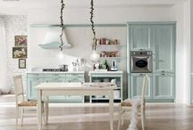 Country Style Village Kitchen by Minacciolo
