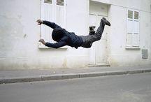 pesanteur / Photographie de danseur en apesanteur